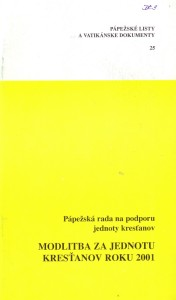 SSV - Modlitba 2001